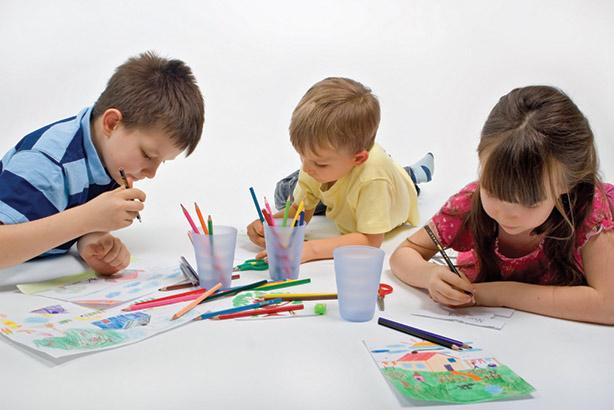 فواید رنگ آمیزی برای کودکان