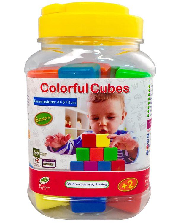 بازی فکری مکعبهای رنگی