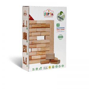 اسباب بازی فکری دیوار چوبی