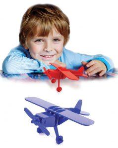 بازی فکری جورچین سهبعدی هواپیما