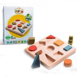 اسباب بازی چوبی صفحه اشکال