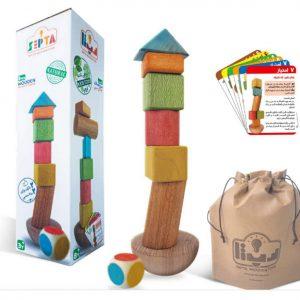 برج تعادل چوبی