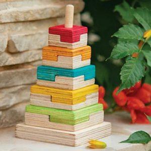 بازی چوبی برج هوش