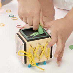 اسباب بازی چوبی حبه بومزی
