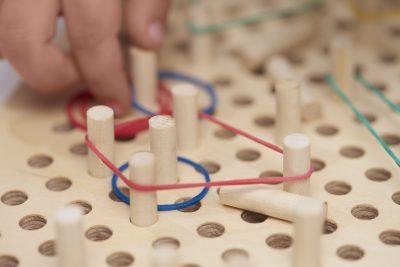 اسباب بازی چوبی کش مش