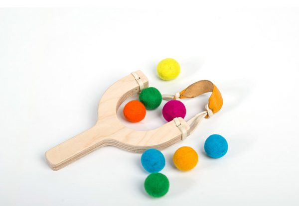 اسباب بازی چوبی توپنگ