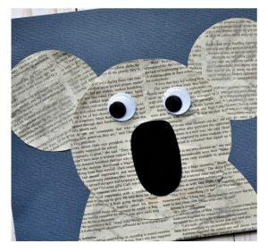 کاردستی با روزنامه