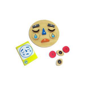 اسباب بازی مونته سوری آشنایی با حالات چهره و احساسات