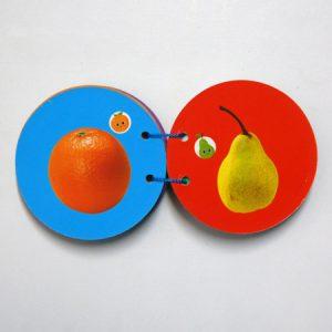 کتاب مقوایی آشنایی با میوه ها