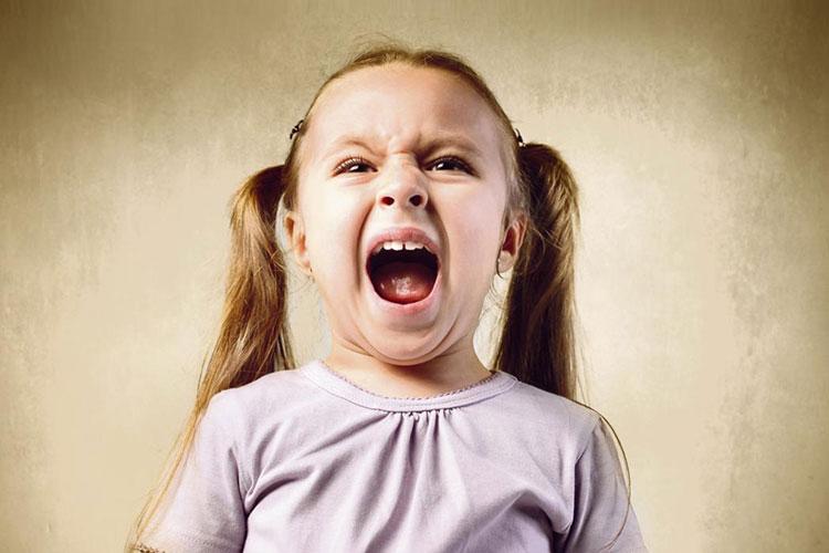 خشم در کودکان