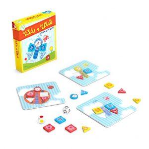 بازی آموزش شکل ها و رنگ ها
