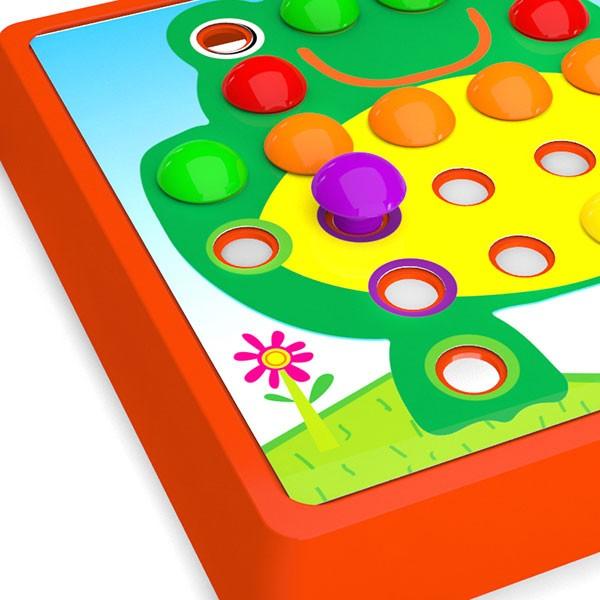 بازی آموزشی دکمه دکمه