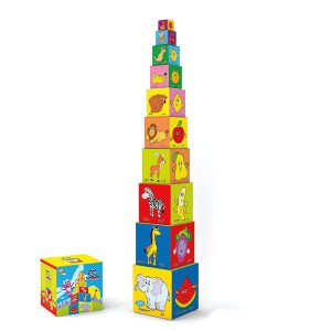 بازی فکری و آموزشی برج مکعب