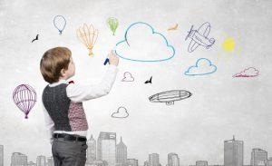 10 راه پرورش خلاقیت در کودکان