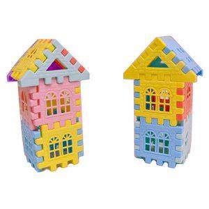 بلوک های خانه سازی 60 تکه