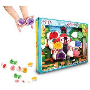 بازی فکری تخم مرغ های رنگی