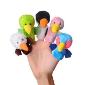 عروسک های انگشتی پرندگان