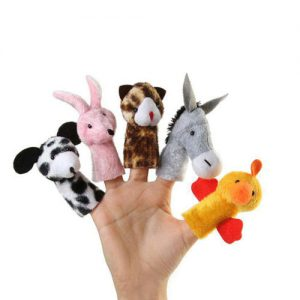 عروسک های انگشتی حیوانات مزرعه