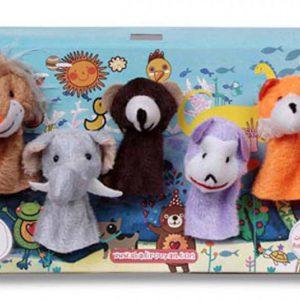 عروسک های انگشتی حیوانات جنگل