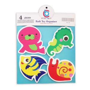 فوم حمام حیوانات دریایی
